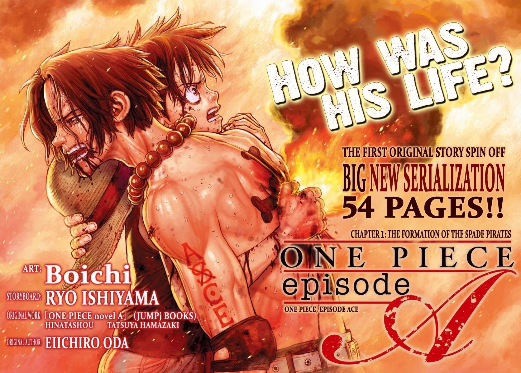 Ace Novel - Manga Adaptation Chapter 1 Page 3