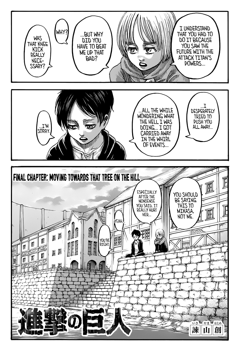 Attack on Titan Chapter 139 Page 1