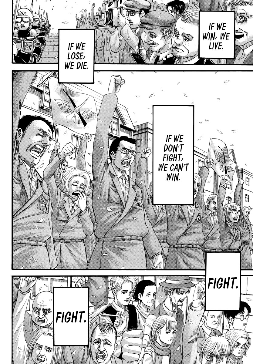Attack on Titan Chapter 139 Page 42