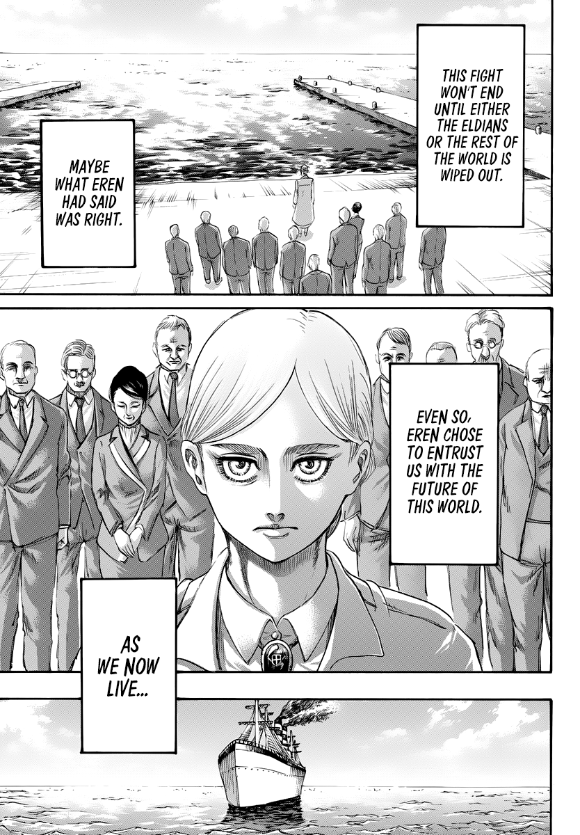 Attack on Titan Chapter 139 Page 43