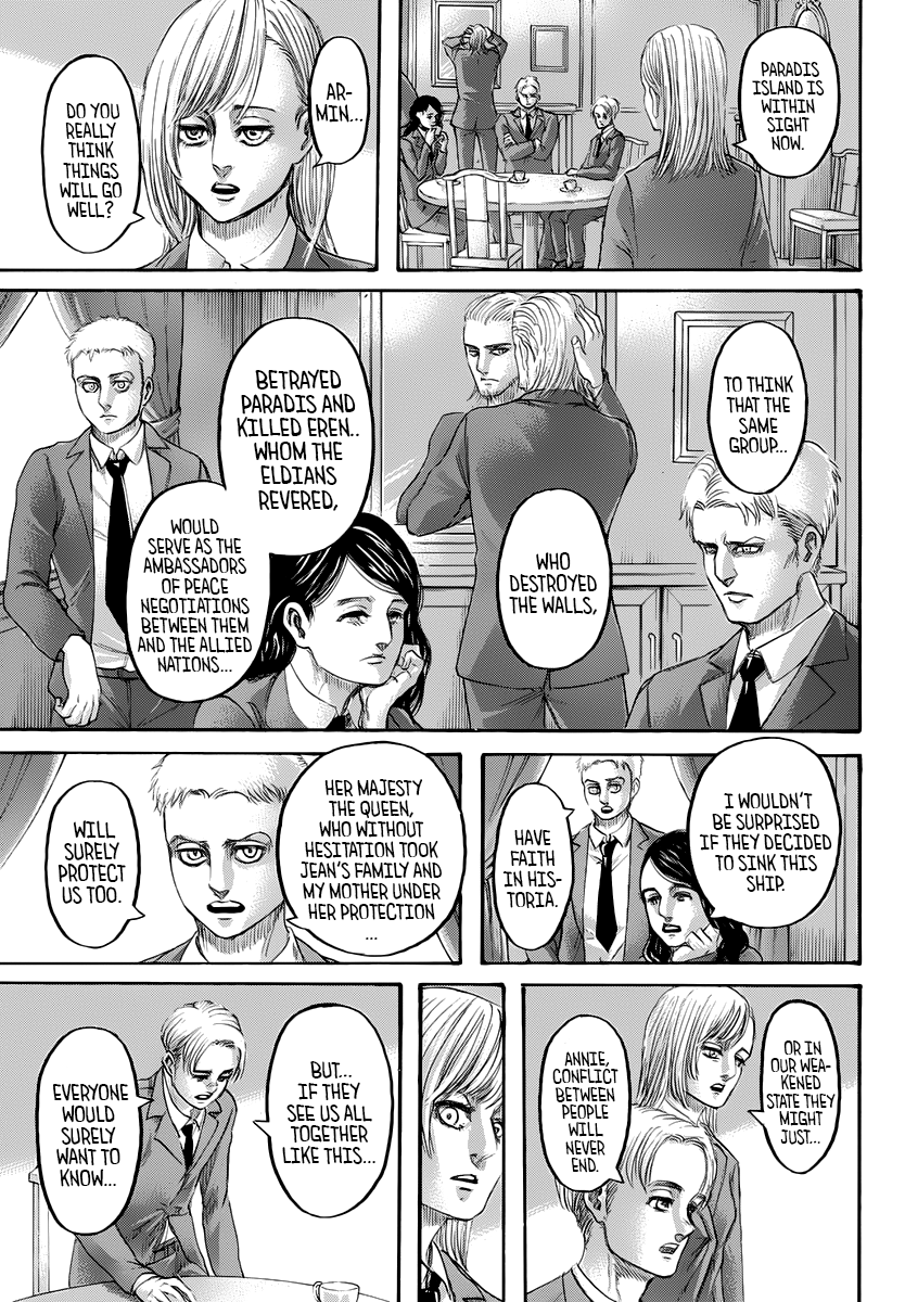 Attack on Titan Chapter 139 Page 45