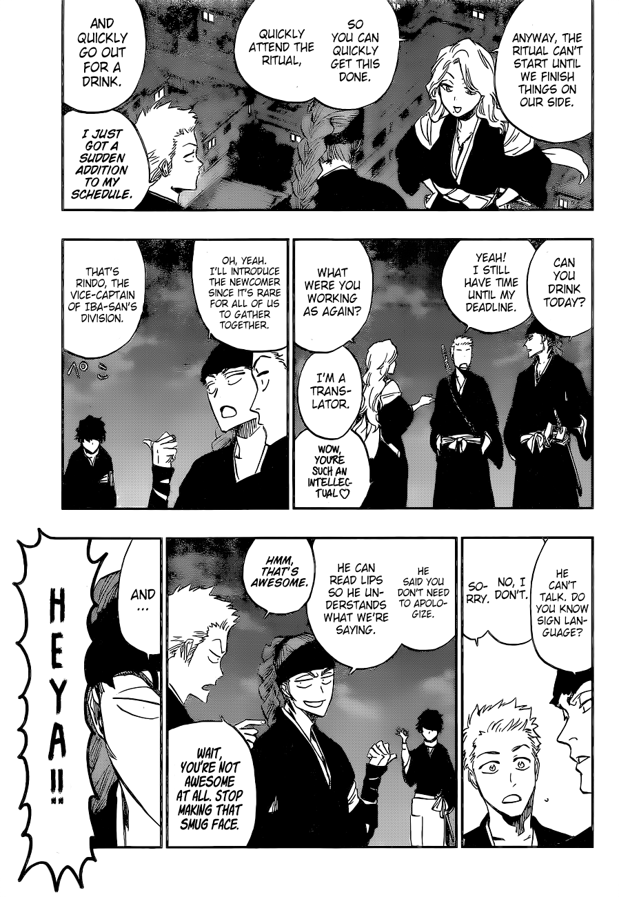 Bleach Chapter 686.5 Page 30