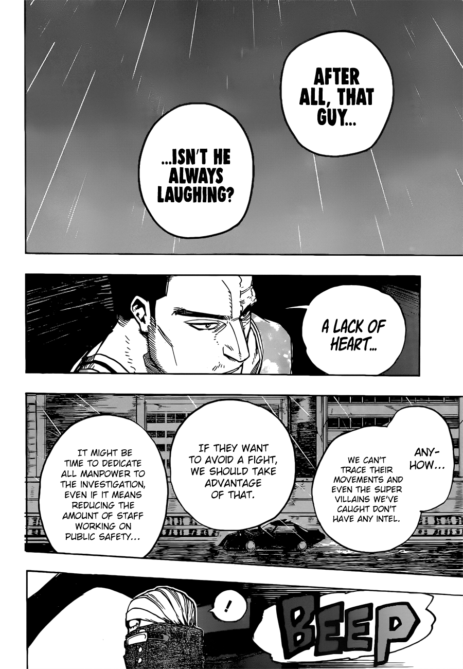 Boku no Hero Academia Chapter 311 Page 10