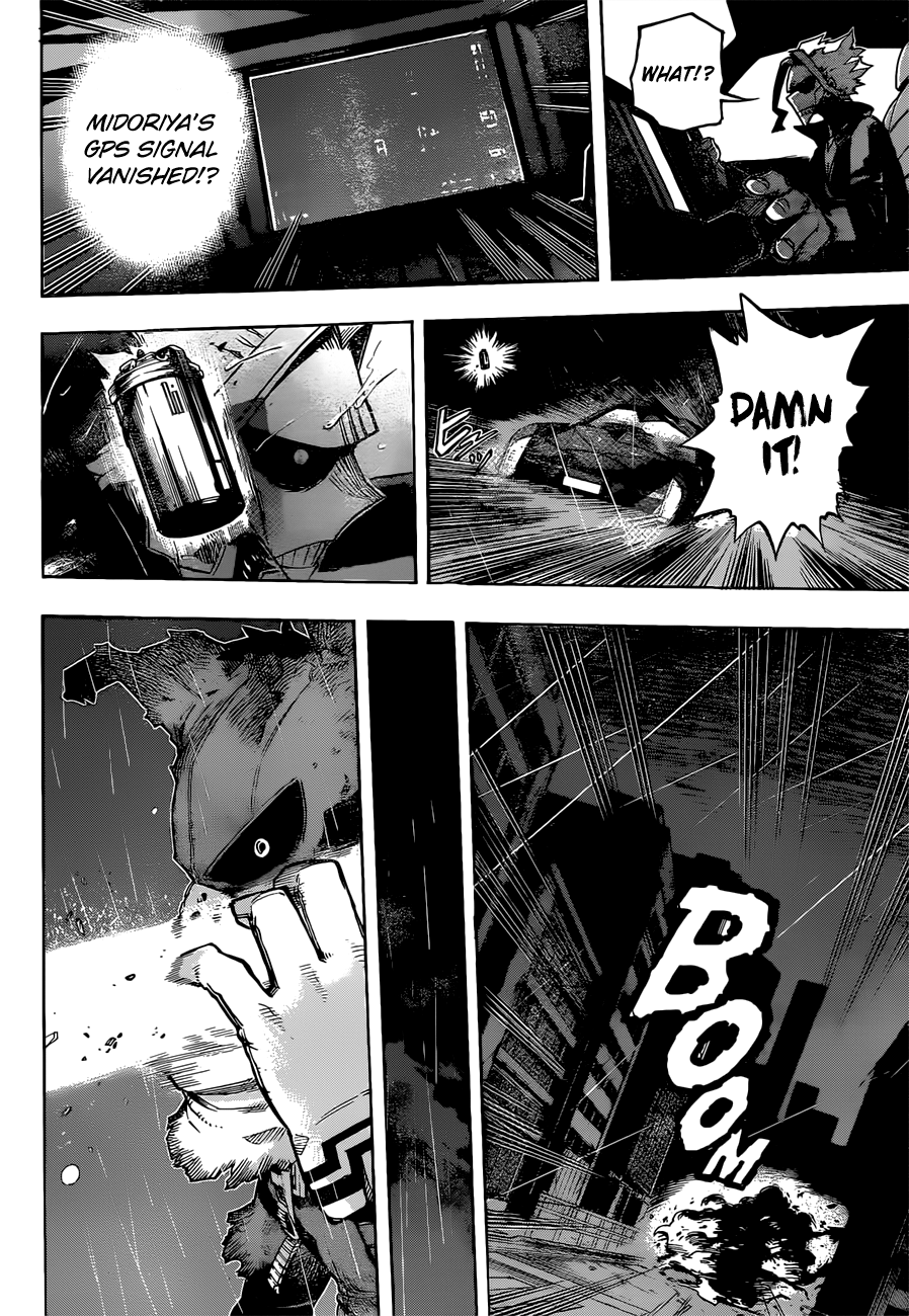 Boku no Hero Academia Chapter 311 Page 12