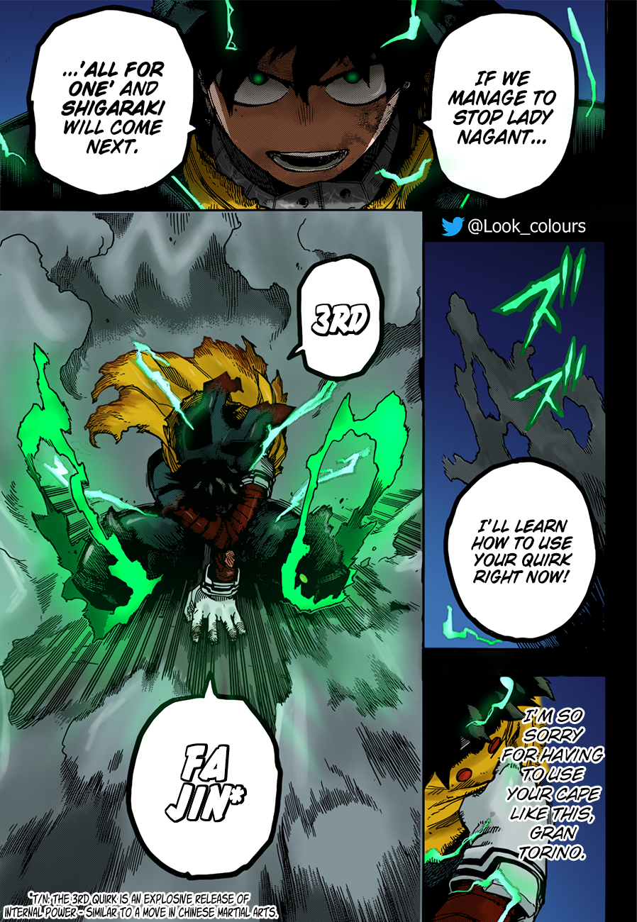 Boku no Hero Academia Chapter 313 Page 19