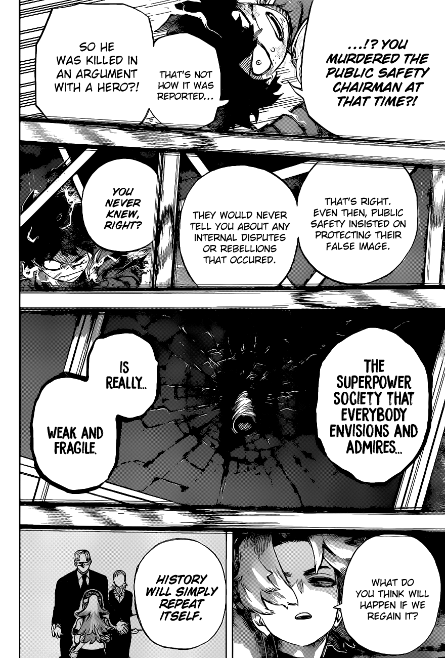 Boku no Hero Academia Chapter 314 Page 12