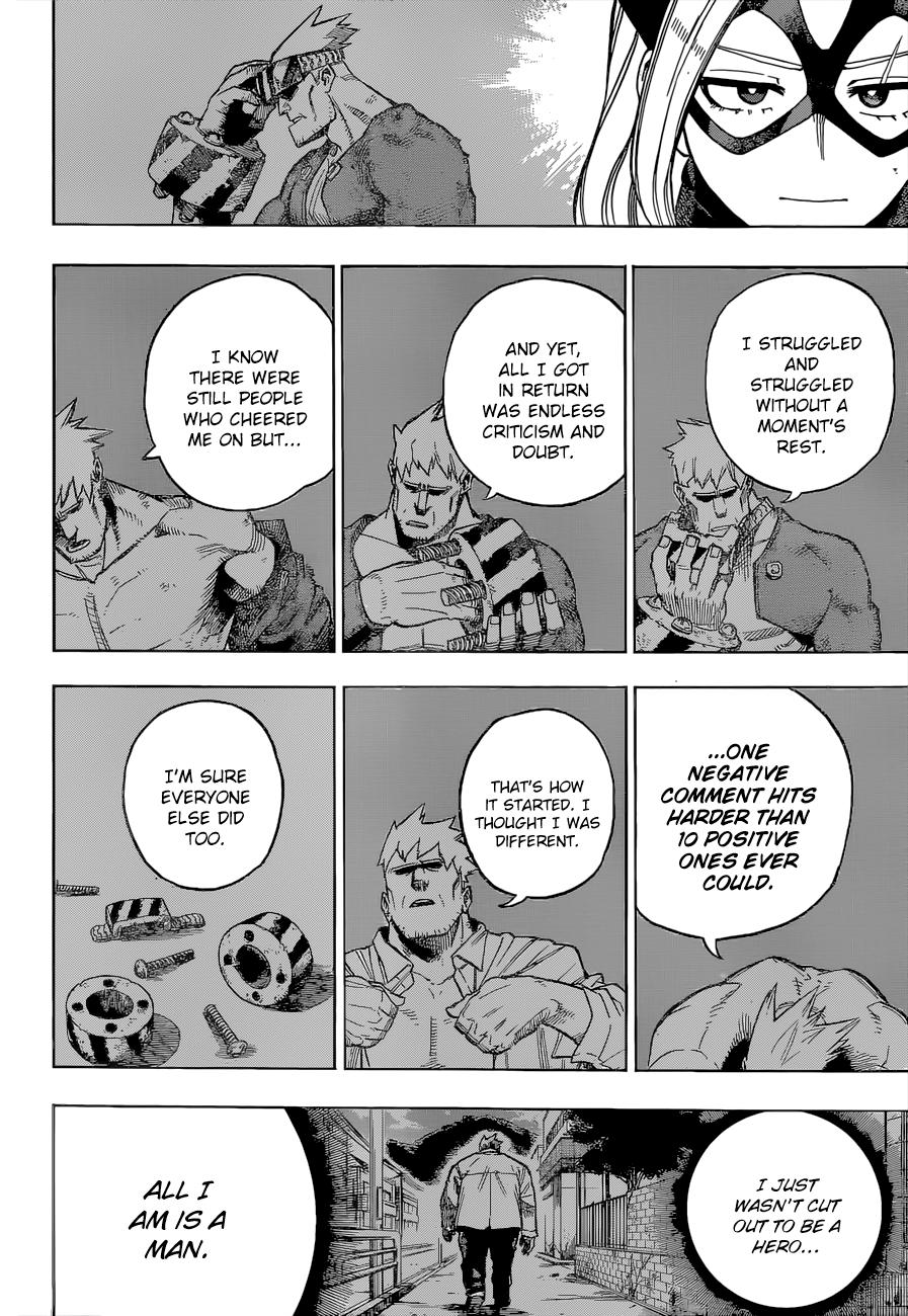 Boku no Hero Academia Chapter 317 Page 4