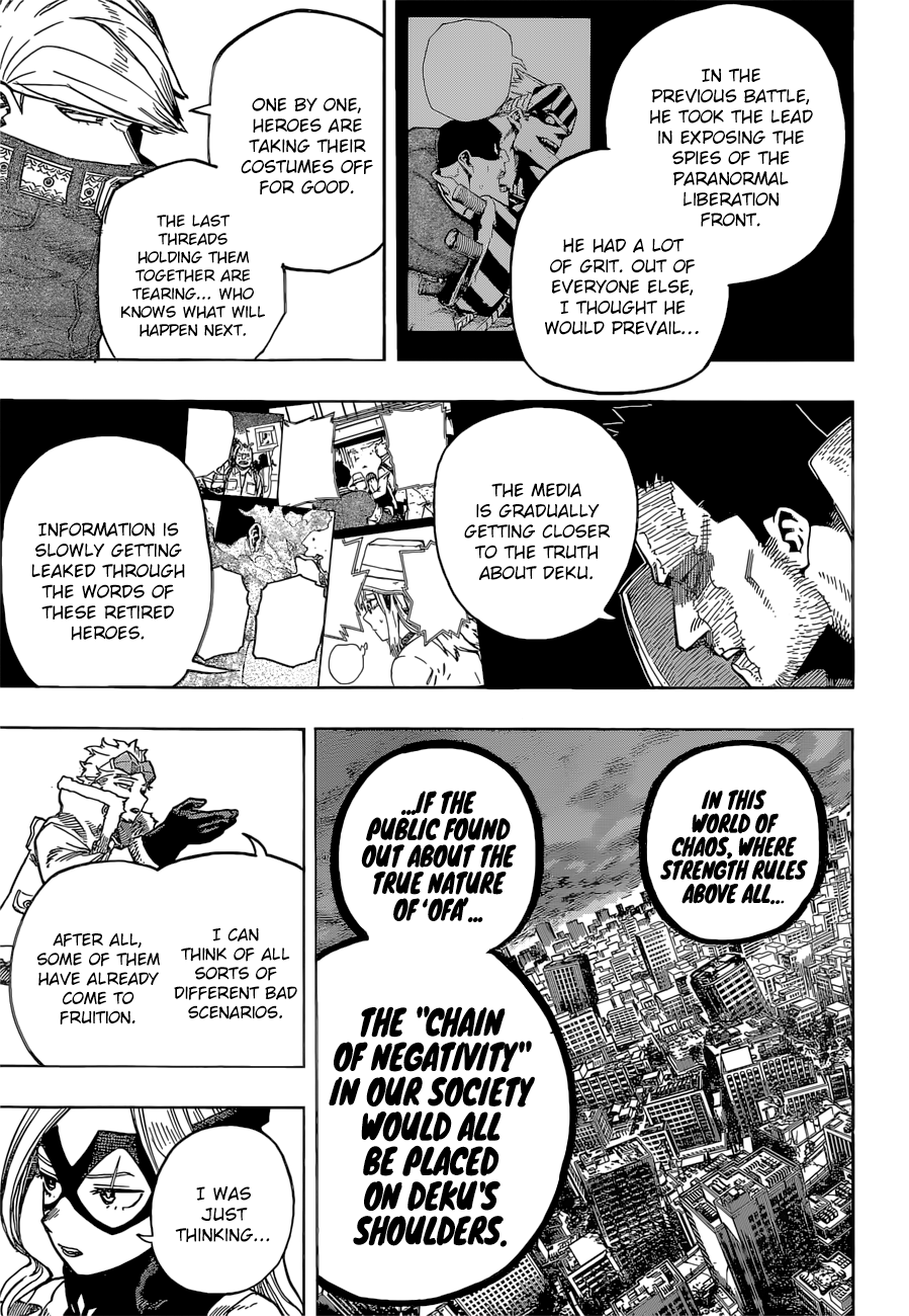 Boku no Hero Academia Chapter 317 Page 5