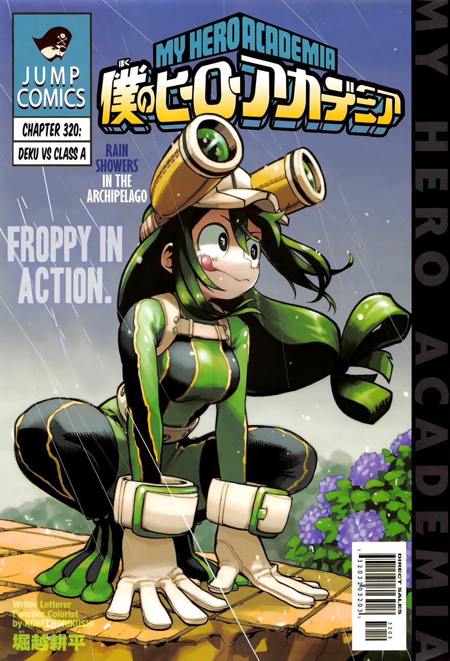 Boku no Hero Academia Chapter 320 Page 1