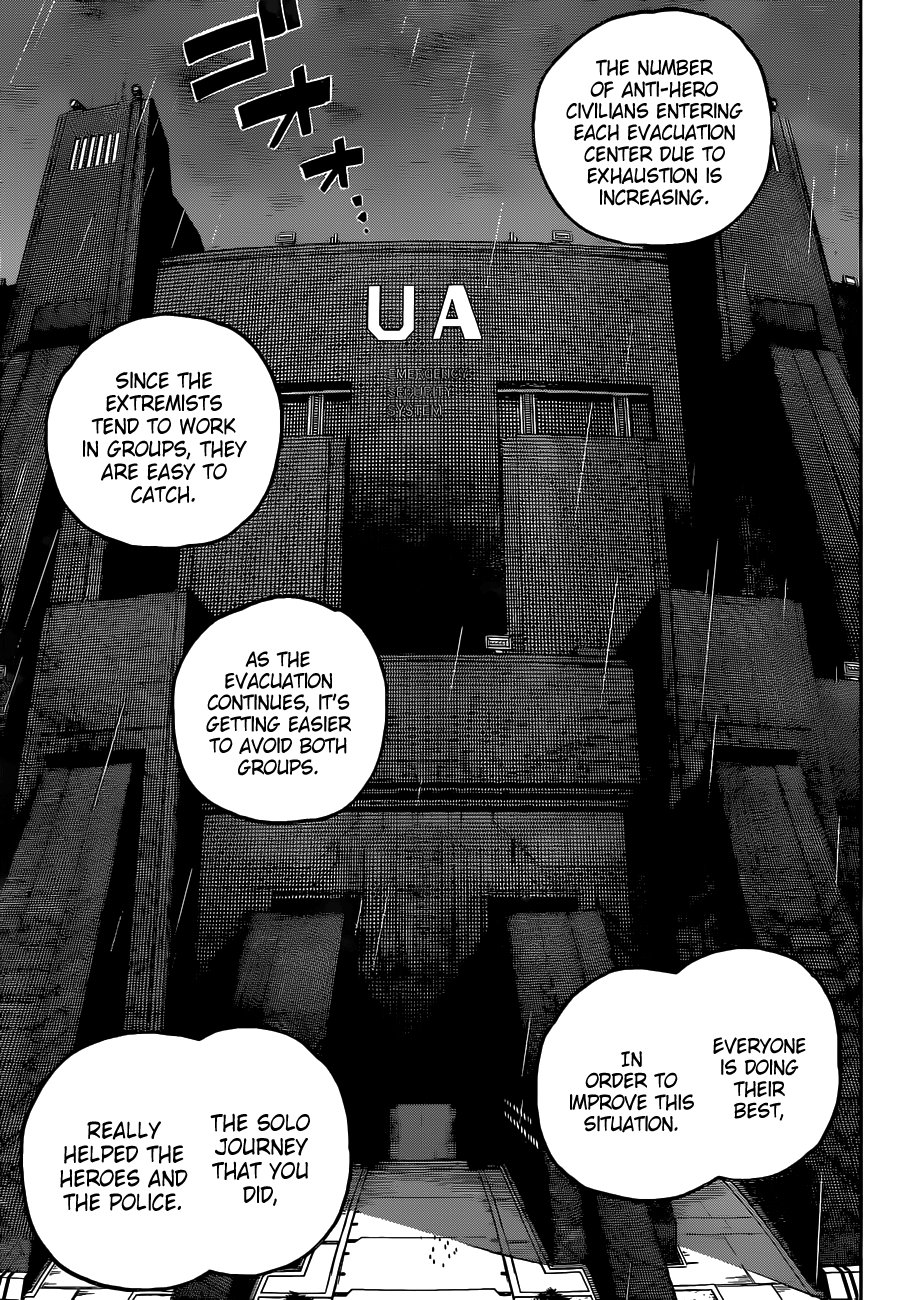 Boku no Hero Academia Chapter 322 Page 13