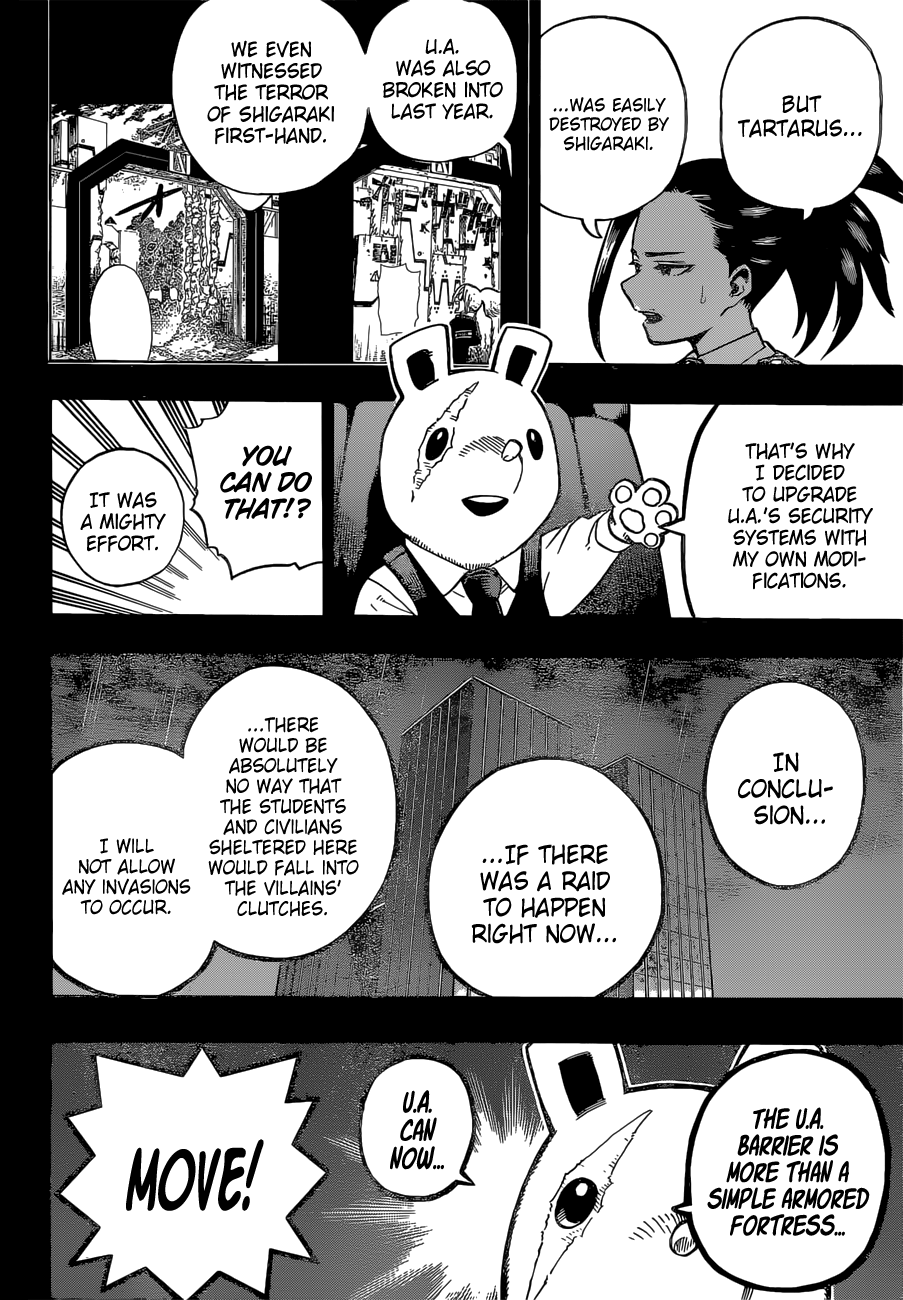 Boku no Hero Academia Chapter 323 Page 2
