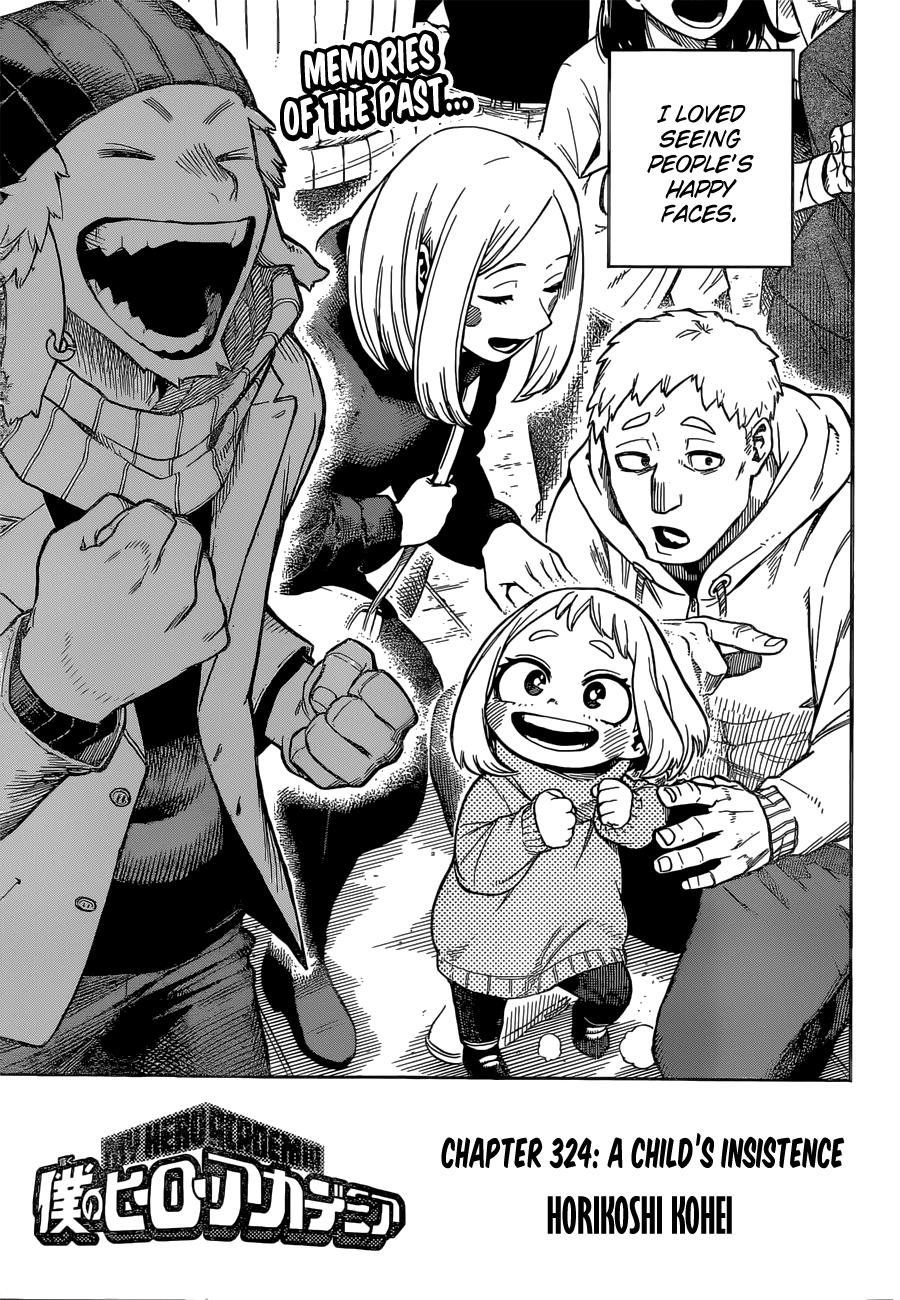 Boku no Hero Academia Chapter 324 Page 1