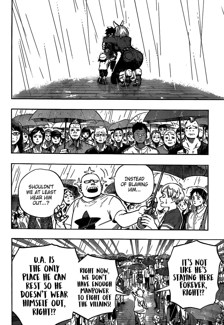 Boku no Hero Academia Chapter 325 Page 4