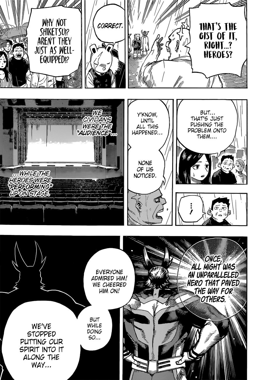 Boku no Hero Academia Chapter 325 Page 5