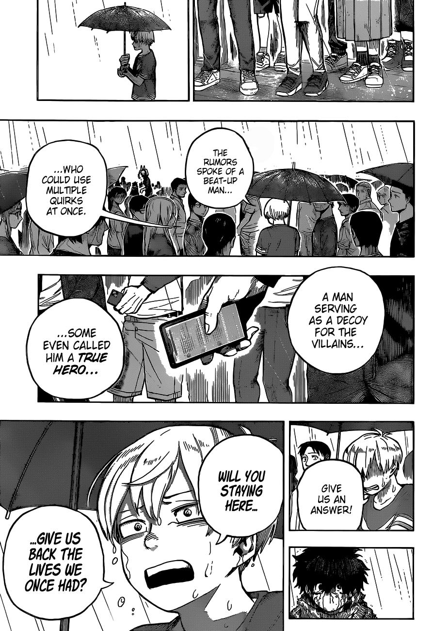 Boku no Hero Academia Chapter 325 Page 7