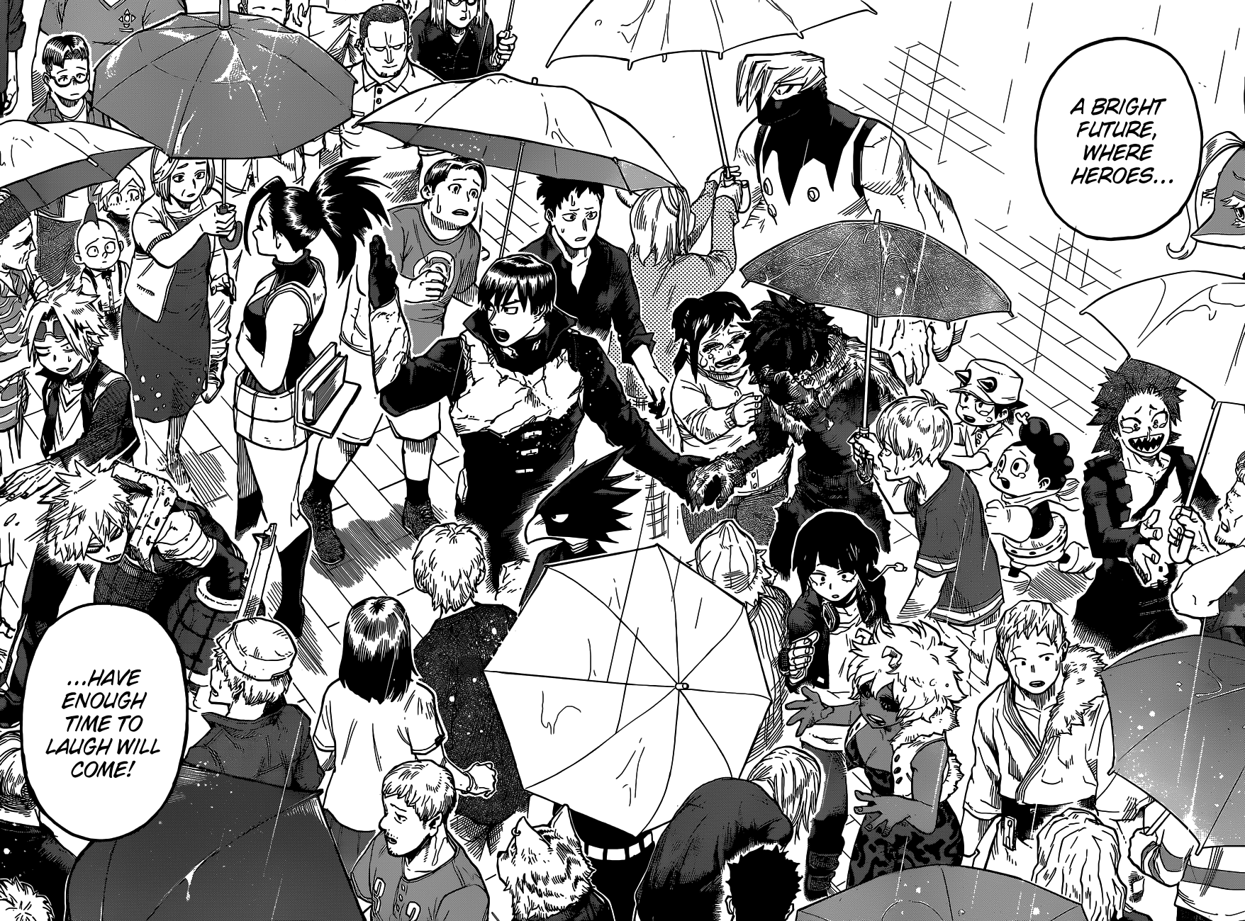 Boku no Hero Academia Chapter 325 Page 12