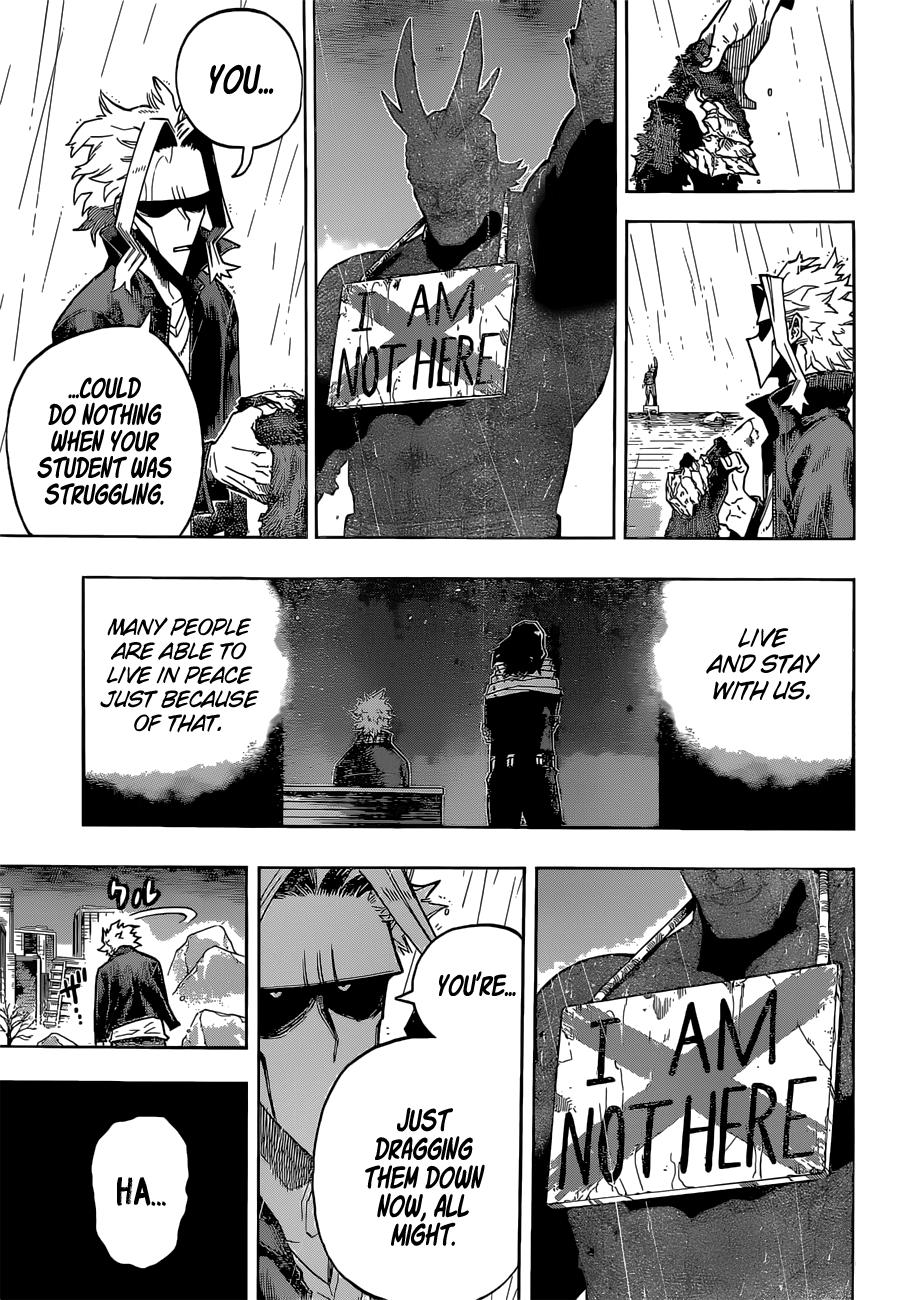 Boku no Hero Academia Chapter 326 Page 3