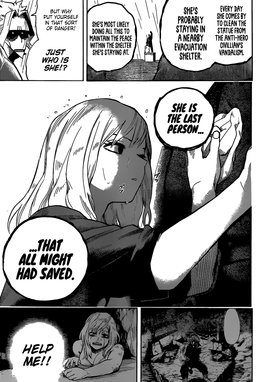Boku no Hero Academia Chapter 326 Page 11