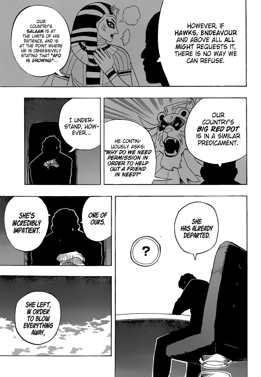 My Hero Academia Chapter 328 Page 14