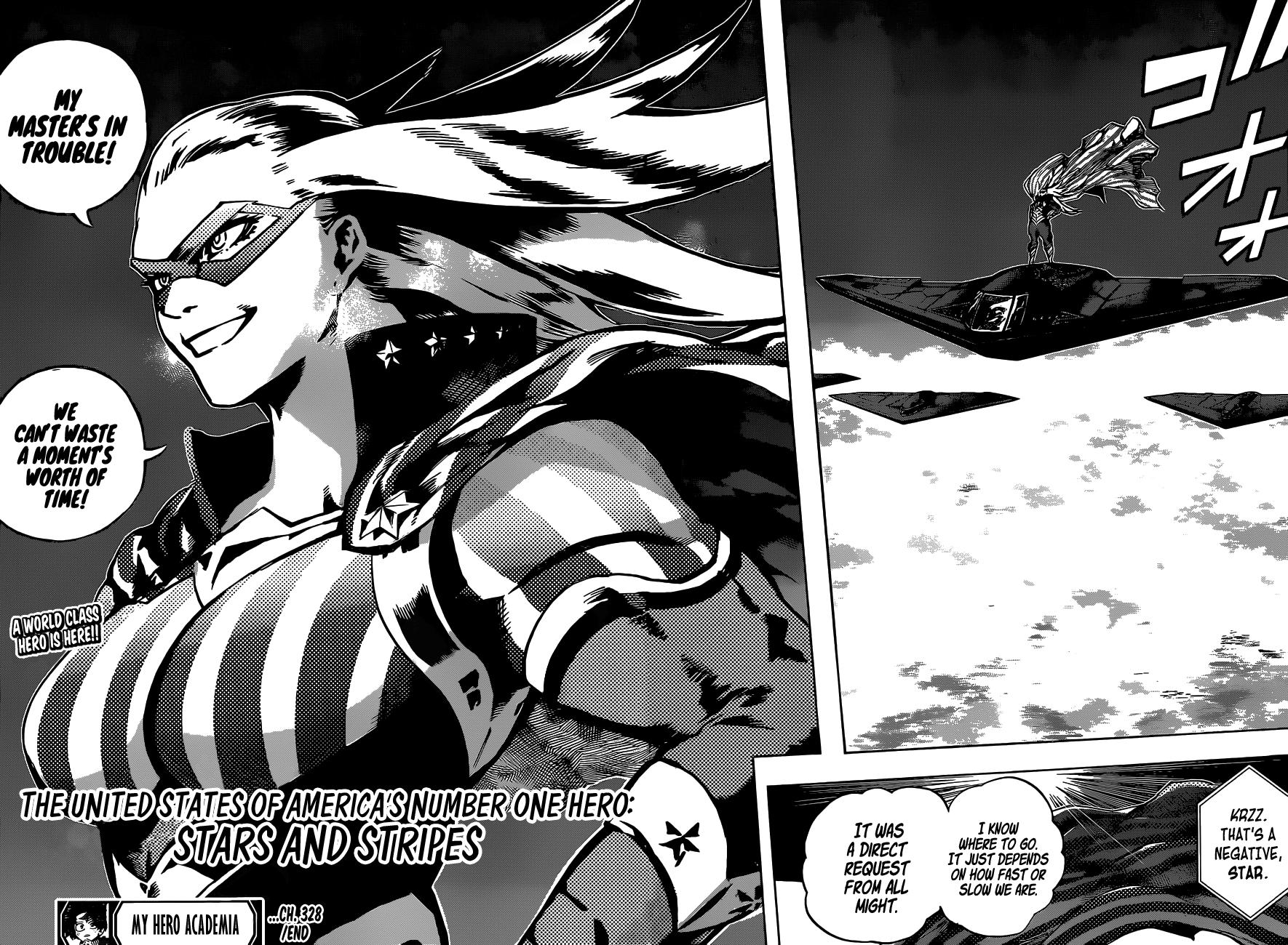 My Hero Academia Chapter 328 Page 15