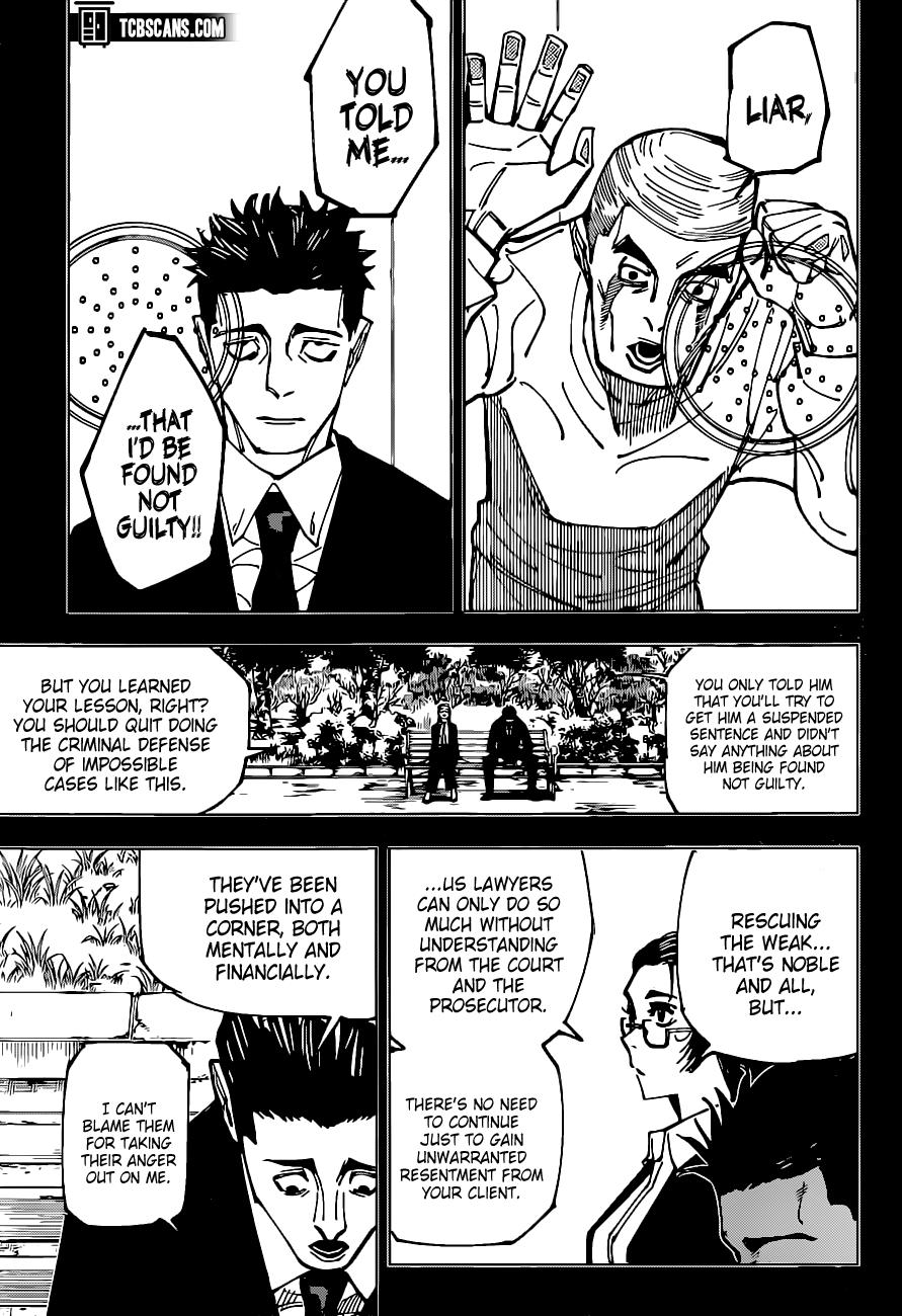 Jujutsu Kaisen Chapter 159 Page 9