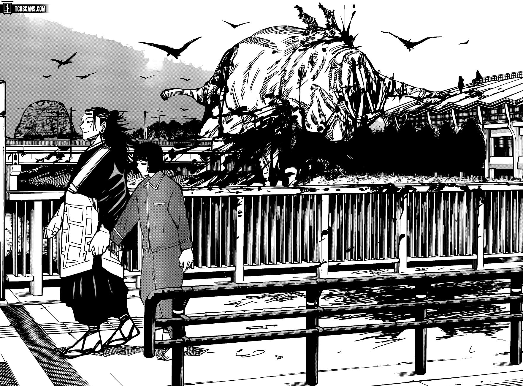 Jujutsu Kaisen Chapter 160 Page 8