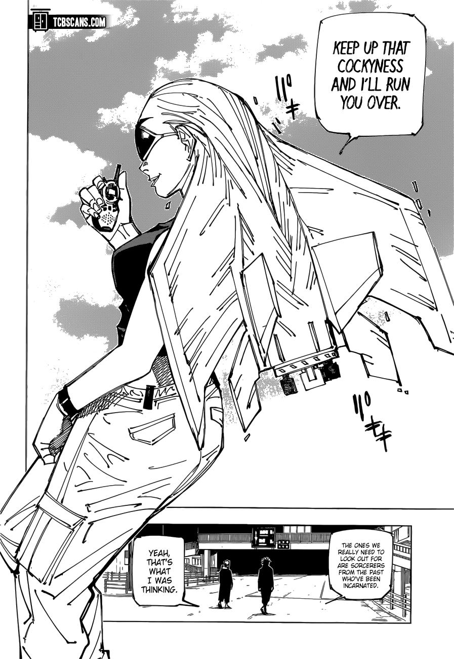 Jujutsu Kaisen Chapter 161 Page 3
