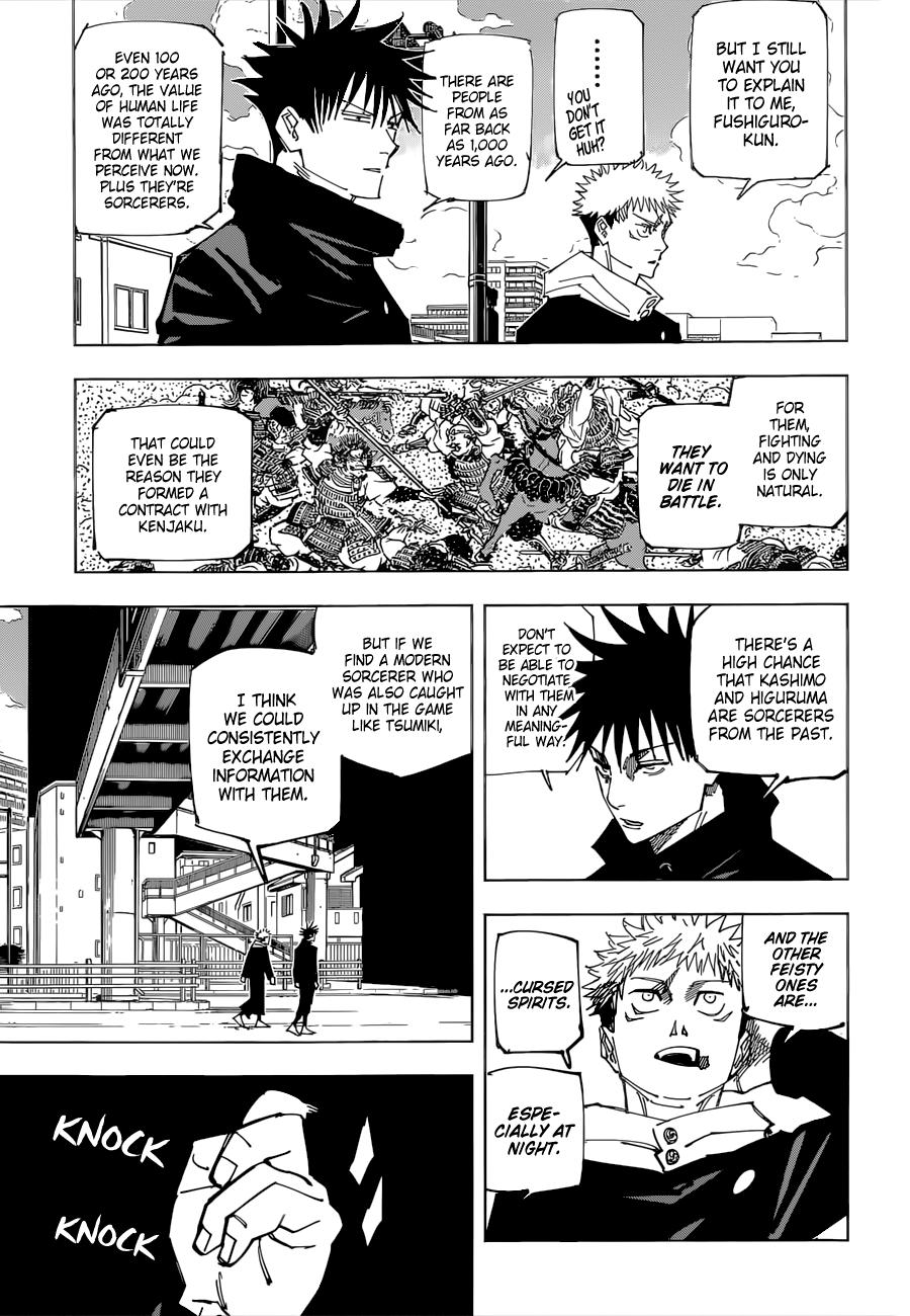 Jujutsu Kaisen Chapter 161 Page 4