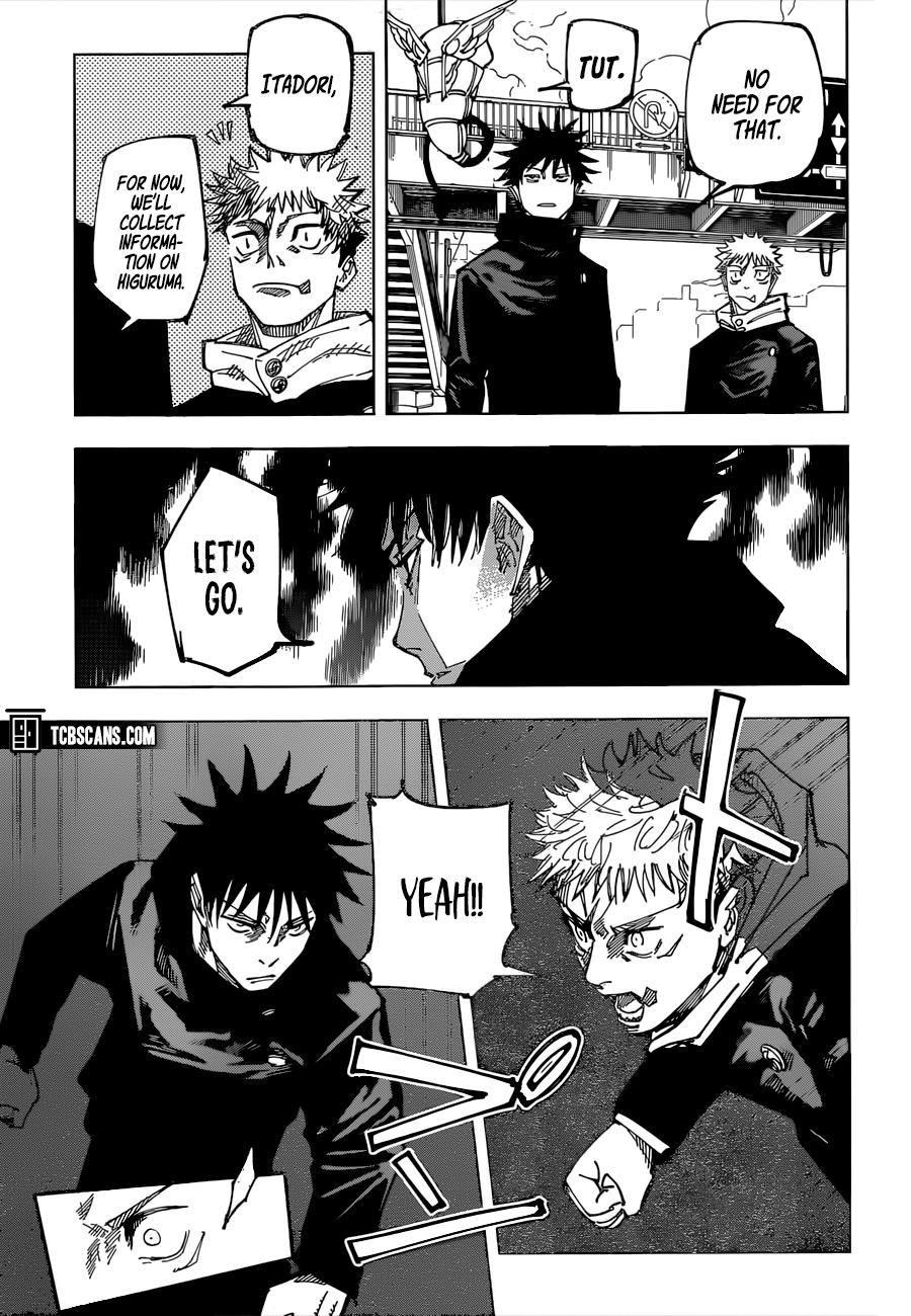 Jujutsu Kaisen Chapter 161 Page 6