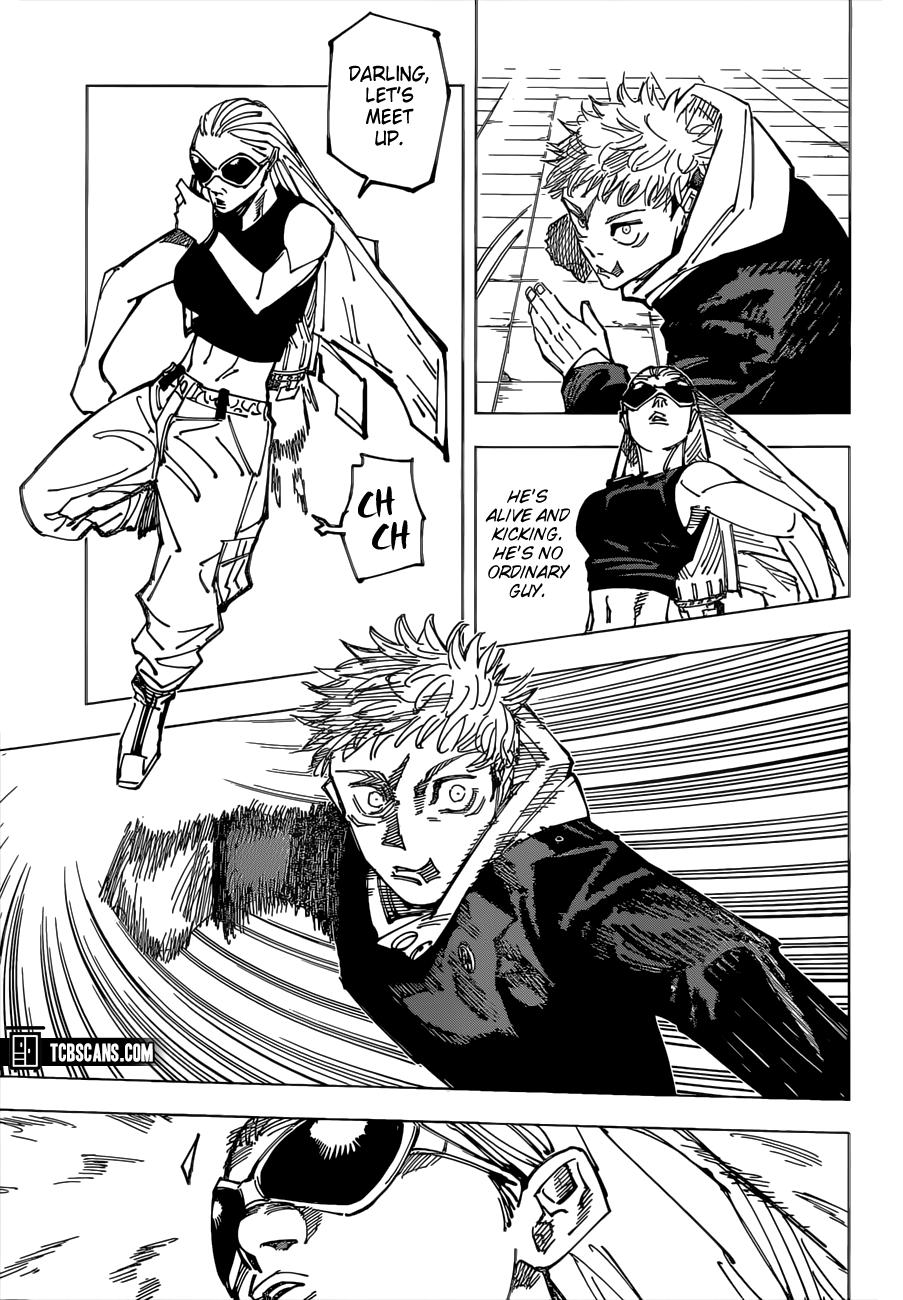 Jujutsu Kaisen Chapter 161 Page 11