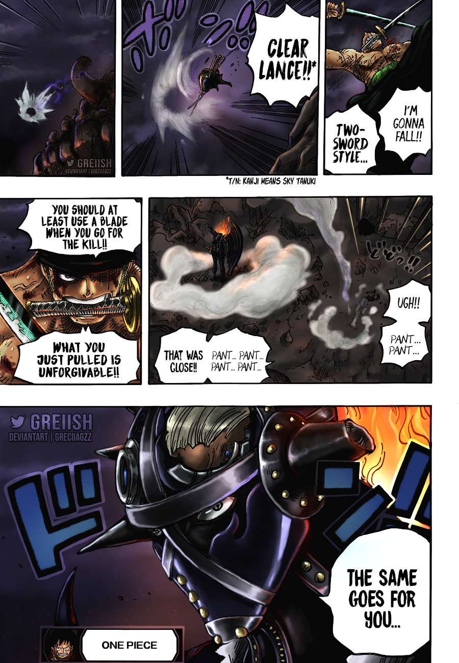 One Piece Chapter 1027 Page 21