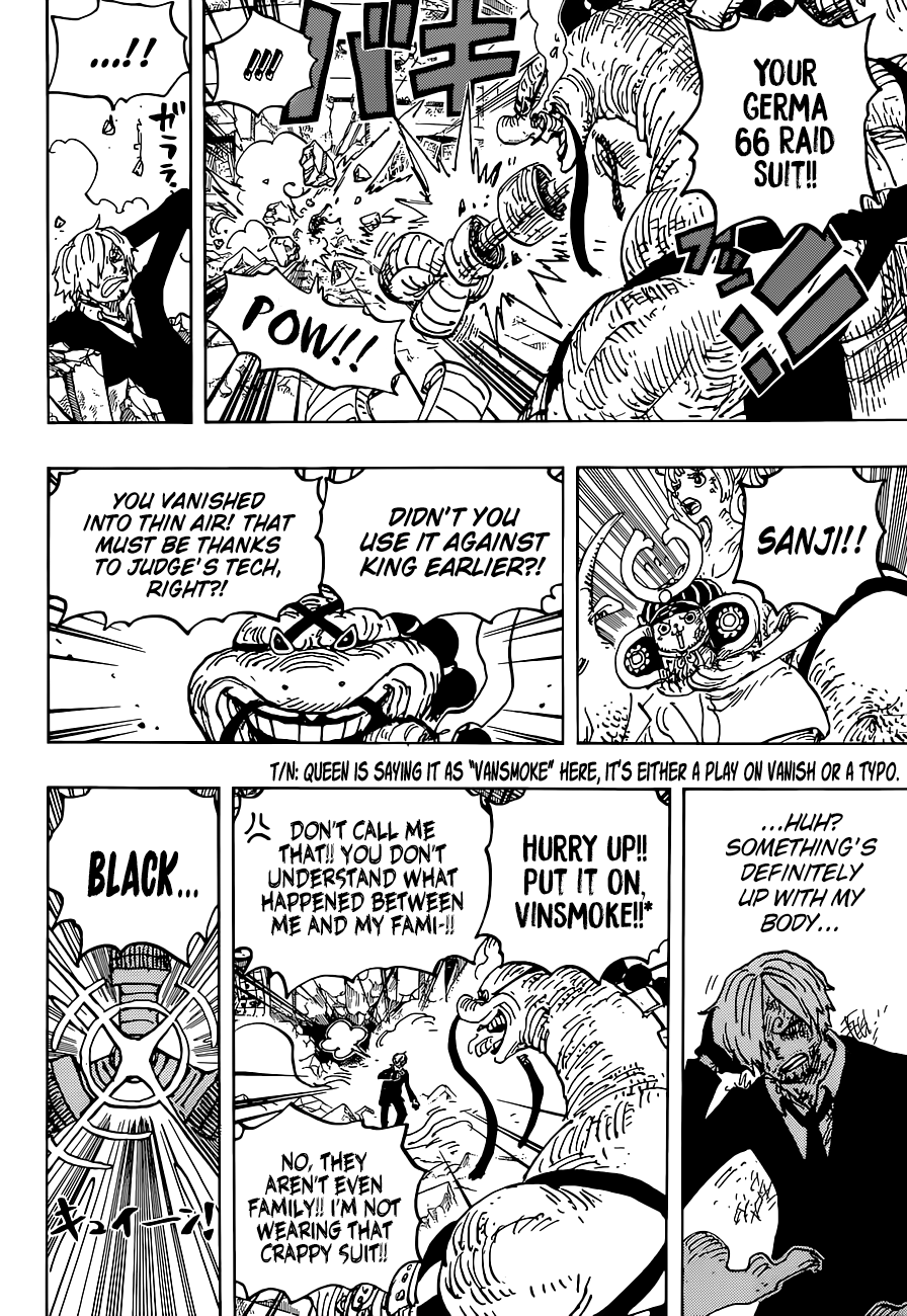 One Piece Chapter 1028 | TCB Scans